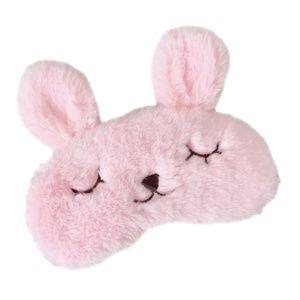 New fluffy bunny sleeping mask